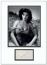 Jane Russell Autograph Signed - The Outlaw